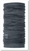 Buff Wool -monitoimihuivi, harmaa