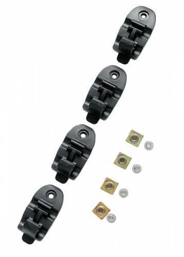 TCX Pro 2 -solkiremmin lukkokappale (4kpl), musta