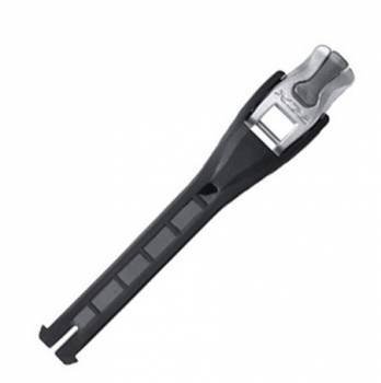 TCX Pro 2.1 -solkiremmi, musta, 14cm
