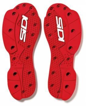 Sidi Crossfire 2 SRS Supermoto Sole -vaihtopohjat, punainen