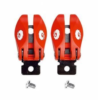 Sidi Crossfire -solkiremmin lukkopari, punainen