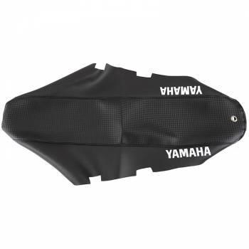 FIN -satulanpäällinen, Yamaha DT50 04-, hiilikuitu/musta (tekstillä)
