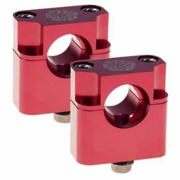 Timeless -kiinnikesarja, pulttimalli, 22mm, punainen