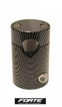 Forte -ohjaustangon kannatin, Piaggio (vanhat), carbon