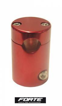 Forte -ohjaustangon kannatin, Piaggio (vanhat), punainen