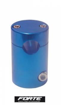Forte -ohjaustangon kannatin, Piaggio (vanhat), sininen