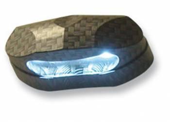 Rekisterikilven valo, LED, carbon