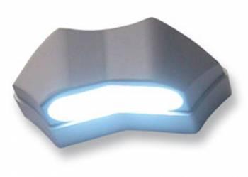 Rekisterikilven valo, LED, alumiini