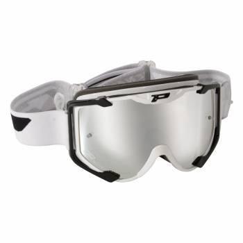 ProGrip 3404 -ajolasit, valko/musta (silver chrome)