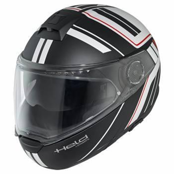 Held H-C4 Tour -kypärä, musta/valko/punainen