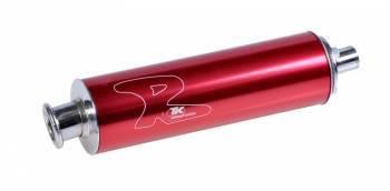 TKR Racing -äänenvaimennin, punainen