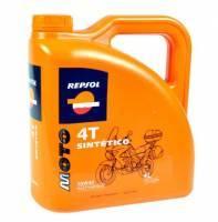 Repsol Moto Sintetico, 4T-öljy 10W-40, 4L