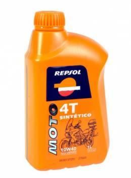Repsol Moto Sintetico, 4T-öljy 10W-40, 1L