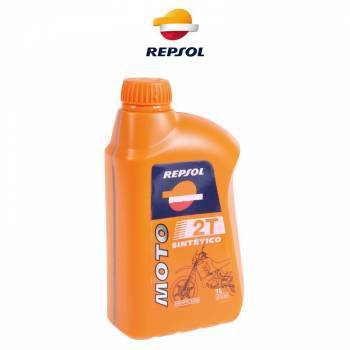 Repsol Moto Sintetico, 2T-öljy, 1L