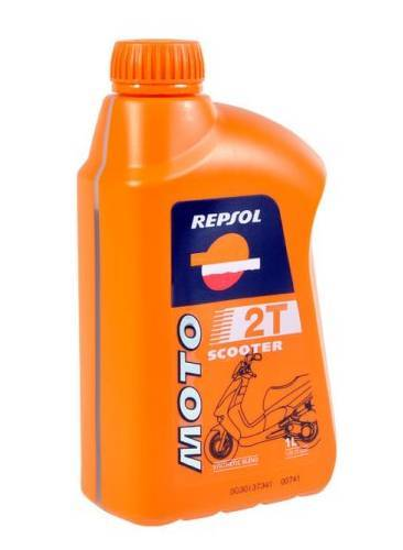 Repsol Moto Scooter, 2T-öljy, 1L