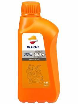 Repsol Liquido de Frenos DOT4, 0.5L
