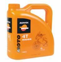 Repsol Moto Rider, 4T-öljy 15W-50, 4L