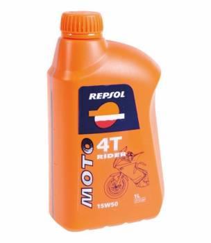 Repsol Moto Rider, 4T-öljy 15W-50, 1L