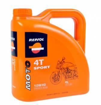 Repsol Moto Sport, 4T-öljy 10W-40, 4L