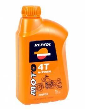 Repsol Moto V-Twin, 4T-öljy 20W-50, 1L