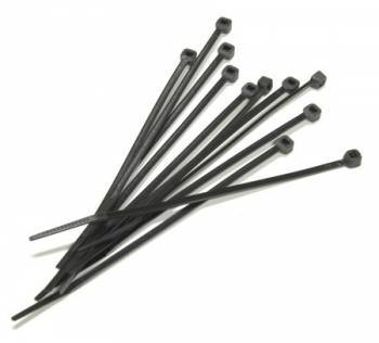 Nippusidesarja 140x3.2mm, musta (100kpl)
