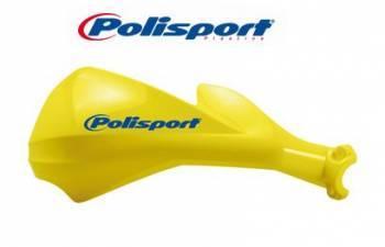 Polisport Sharp -käsisuojat, keltainen