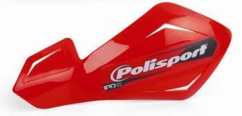 Polisport FreeFlow Lite -käsisuojat, punainen
