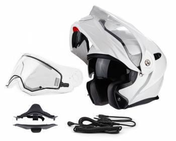 Scorpion ADX-1 Snow -kypärä, valkoinen