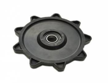 Telamaton kääntöpyörä, 9H/2.52/25mm