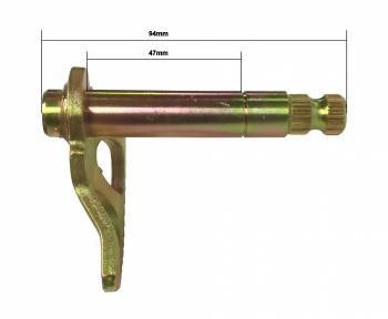 Buzzetti -käynnistinpolkimen akseli, 80/33mm, CPI/Keeway