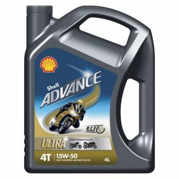 Shell Advance Ultra 4, 4T-öljy 15W-50, 4L
