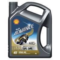 Shell Advance Ultra 4, 4T-öljy 10W-40, 4L