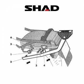 Shad -peräteline, Honda CBR1000F 94-01