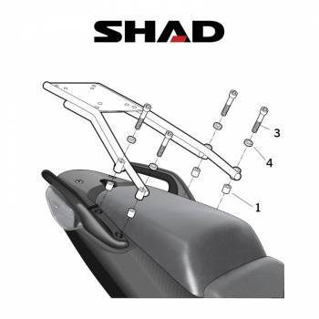 Shad -peräteline, Honda CBF1000 10-11