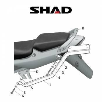Shad -peräteline, Honda CBR125 04-10
