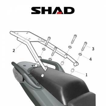 Shad -peräteline, Honda CBF1000 05-09