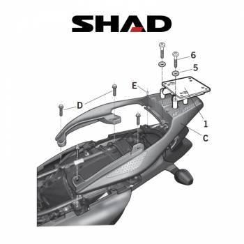Shad -peräteline, Honda XL700V 07-11