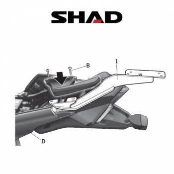 Shad -peräteline, Honda VFR1200F 10-11