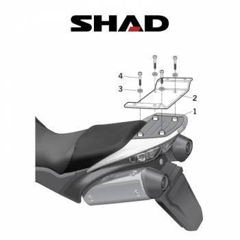 Shad -peräteline, Honda XL1000V 07-11