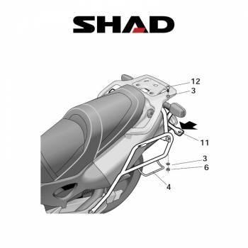 Shad -sivutelineet, Honda XL1000V 99-06
