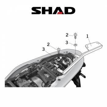Shad -peräteline, Kawasaki ER-6 06-08