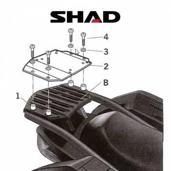 Shad -peräteline, Kawasaki GTR1400 07-11
