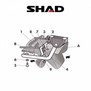 Shad -peräteline, Kawasaki Zephyr 750 91-02
