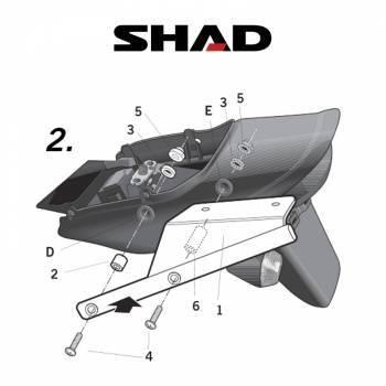 Shad -peräteline, Kawasaki ZRX1200 01-08