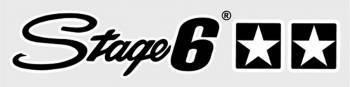 Stage6 -tarra, 25x5.5cm, musta