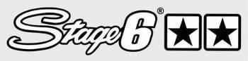 Stage6 -tarra, 25x5.5cm, valkoinen