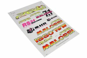 Malossi -tarrasarja, 25x35cm