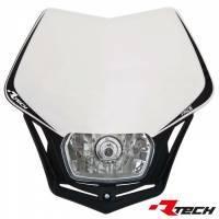 Racetech V-Face -valomaski, valkoinen