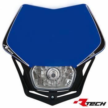 Racetech V-Face -valomaski, sininen