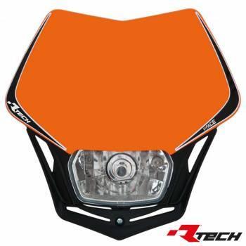 Racetech V-Face -valomaski, oranssi
